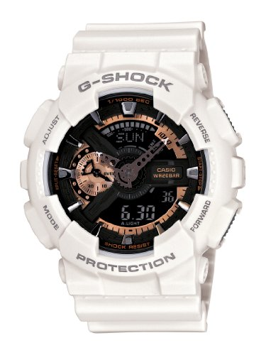 Casio GA110RG 7A G Shock White Watch