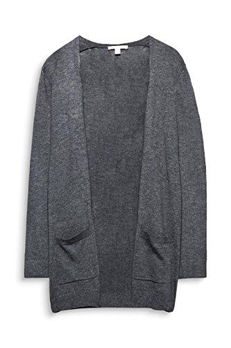 5 024 Dark Donna Grigio Cardigan ESPRIT Grey RTZ7pp