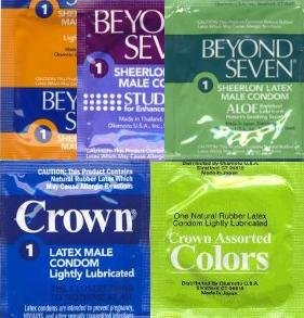 Okamoto Condom Sampler 24 Pack, Health Care Stuffs