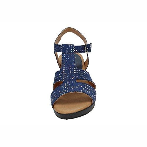 Sandales Femme NOELIA Marine 1713 Bleu 5UfWqw6W