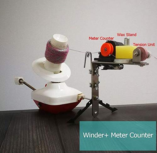 Standard Yarn Ball Winder with Meter Length Counter Combo Set
