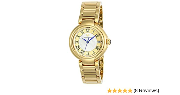 Amazon.com: Technomarine Womens Sea Quartz Stainless Steel Casual Watch, Color:Two Tone (Model: TM-716007): Watches