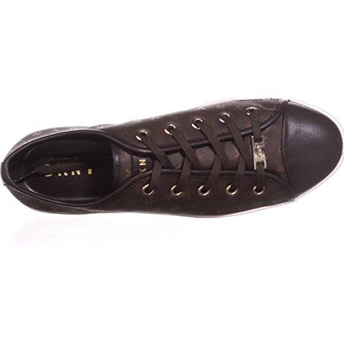 Dkny Brayden Bindende Mode Sneakers - Logo Bruin