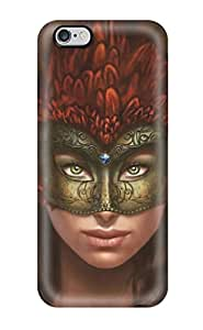 New Fashion Premium Tpu Case Cover For Iphone 6 Plus - Masquerade Mask