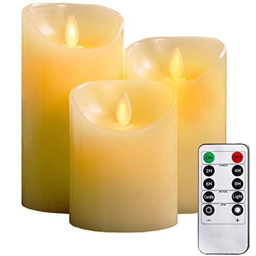 YIWER Flameless Candles 4