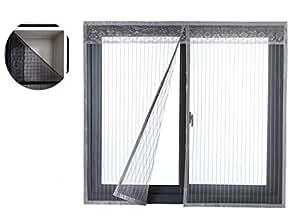 Liveinu cortina mosquitera magn tica para puerta ventana for Mosquitera magnetica puerta