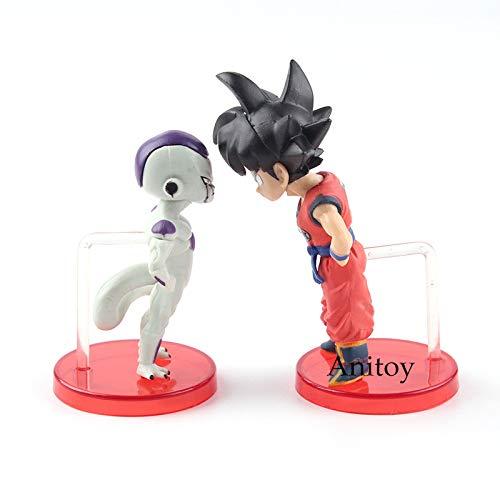 Dragon Ball Z Son Goku VS Frieza 2pcs/Set| PVC Action Figures Collectible Model Toys