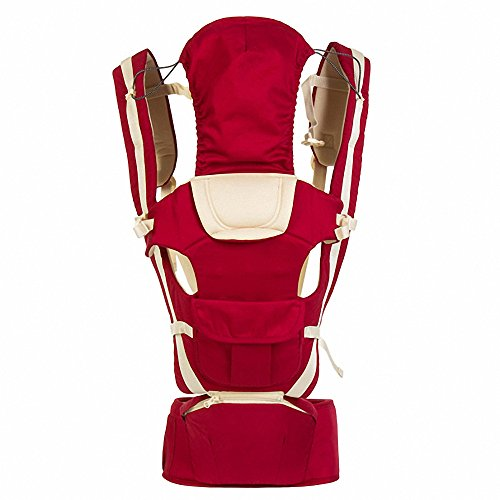 Baby Carrier Multifunctional Backpack Sling (Pink) - 8