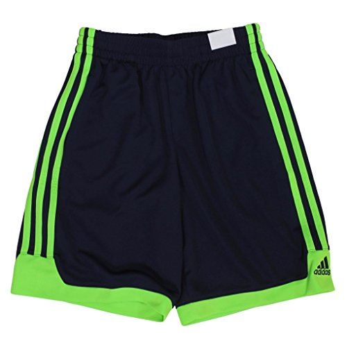 Adidas Athletic Basketball Shorts for Boys (Medium - 10/12, Navy (Adidas Blue Basketball Shorts)