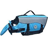 Vivaglory Dog Life Chaquetas con acolchado adicional para perros, X-Small - Azul