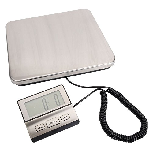 SSLine 440 LBS Digital Shipping Scale Heavy Duty Postal Scale with Indicator Large Platform UPS USPS Post Office Compact Luggage Scale
