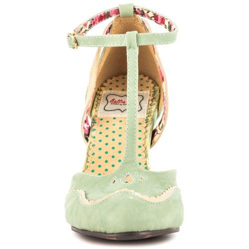 Closed BP403 Toe Sandal Inch Womens ANNALISE T 4 strap PIwHqIRr