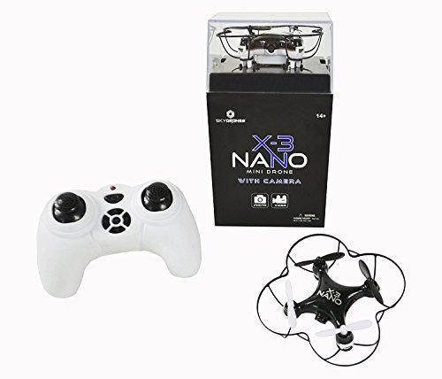 Braha Skydrones X3 Nano Mini Drone With Camera by Skydrones