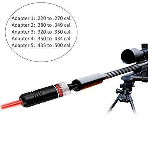 ADAFAZ-Bore-Sight-Kit-Red-Boresighters-for-22-to-50-Caliber-Pistols-Rifles-Bore-Sighter-for-Hunting
