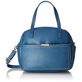 Caprese Daisy Women's Small Satchel (Aqua)