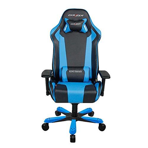 DXRacer OH/KS06/NB Black & Blue King Series Gaming Chair