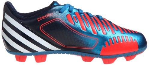Adidas predito lz trx hg J Chaussures de football Chaussures pour enfants Bleu/rouge/blanc