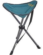 Uquip Darcy - Taburete XL plegable, estable y liviano - Para acampar, cazar y actividades al aire libre