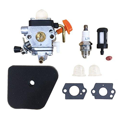 Carburetor for Zama C1Q-S174 fit STIHL FS87 FS90 FS100 FS110 FS130 HL90 HL95 HL100 HT100 HT101 KM90 KM100 KM110 SP90 Trimmer Carb 4180-120-0610 with Accessories