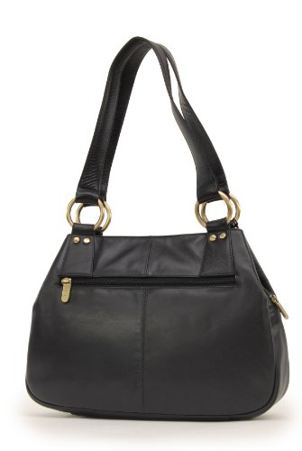Leather Black Bag Shoulder Midi 6819 Othello Gigi 56xYqfSwf