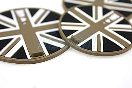 HDX Lot de 2 Porte-gobelets antid/érapants pour Mini Cooper F54 F55 F56 F57 F60 R55 R56 R57 R58 R59 R60 R61 Hardtop Clubman Hatchback Covertible Roadster Countryman