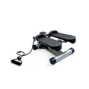 Aerobic Fitness Step Air Stair Climber Stepper Exercise Workout Fitness Machine - Portable Lightweight Full Body Cardio Workout