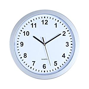 """Stalwart 82-5894 Wall Clock with Hidden Safe, 10"""""""
