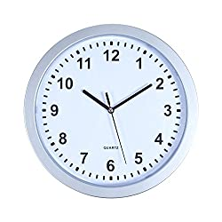 Stalwart 82-5894 Wall Clock with Hidden Safe, 10