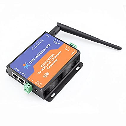 Amazon com: Serial RS232/ RS485 to Wifi Server with 2