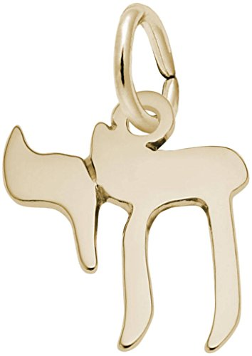 - Rembrandt Small Chai Charm - Metal - Gold-Plated Sterling Silver