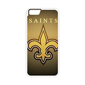 New Orleans Saints iPhone 6 Plus 5.5 Inch Cell Phone Case White 218y3-186344