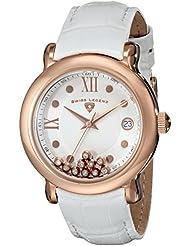 Swiss Legend Womens 22388-RG-02 Diamanti Analog Display Swiss Quartz White Watch