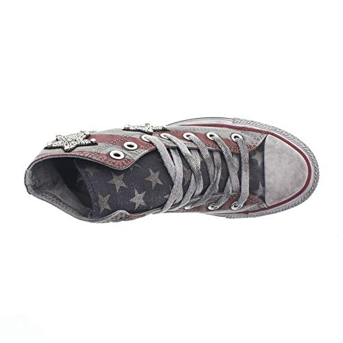Bars Star Alte All Converse Jewels and Ltd Canvas Stars Tela Chuck High Donna Rosso Sneakers Taylor qwIBP4