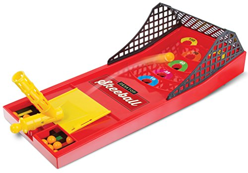 Desktop Travel Skeeball Game Classic Fun For All Ages Classic Skeetball Keeps Score