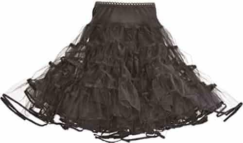 Fishlove Flower Girl Petticoats Childrens A-Line Lace Edge Underskirt Slips Pe16
