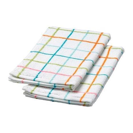 IKEA SOMMAR 2015 toallas en multicolor; 2 pcs; (30 x 50 cm)