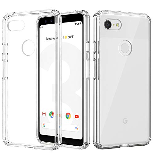 lightweight clear case for google pixel 3