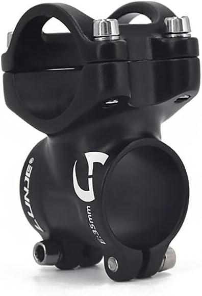 L/ég/ère VTT 31,8 mm v/élo de route BMX Pvnoocy Potence de v/élo Pour VTT Courte En alliage daluminium