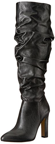 The Fix Women's Kennedi Pointed-Toe to-The-Knee Slouch Boot, Black, 8.5 B US by The Fix