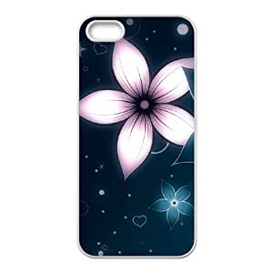 Cool Painting Petals Original New Print DIY Phone Case for Iphone 5,5S,personalized case cover case517901