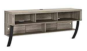 """Ameriwood Home Altra Furniture Wall Mounted TV Stand, 60"""", Sonoma Oak"""