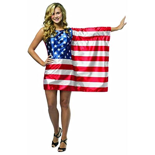 Rasta Imposta Flag Dress USA Red/White/Blue Teen 13-16  sc 1 st  Amazon.com : fourth of july costumes  - Germanpascual.Com