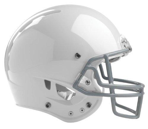 Rawlings Momentum Plus Football Helmet, X-Small, White ()