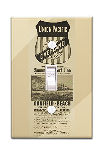 union-pacific-the-overland-route-garfield-beach-vintage-poster-usa-c-1888-light-switchplate-cover