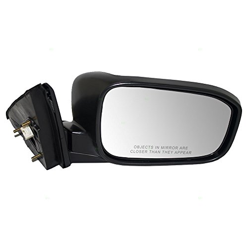 Accord Power Honda Mirrors (Passengers Power Side View Mirror Heated w/Gray Cover Replacement for 03-07 Honda Accord Sedan 76200-SDA-A23ZA)