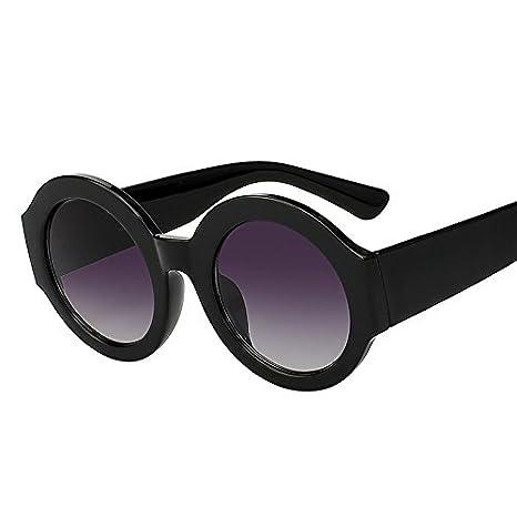 TIANLIANG04 occhiali da sole rotondi del cerchio delle donne di occhiali da vista moda donna retrò vintage di alta qualità UV GOGGLES400 bJqoHN8