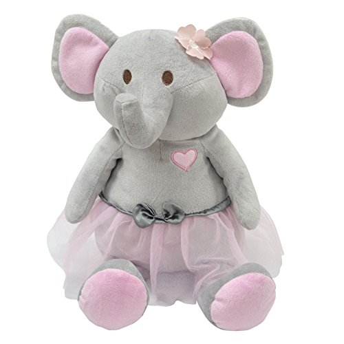 Bella Plush Toy Elephant in Tutu by The Peanut Shell (Peanut Animal)