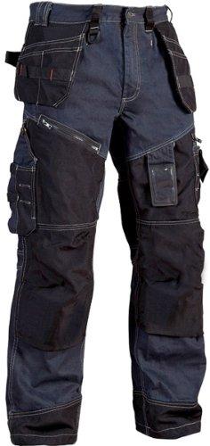 Blakläder Bundhose Handwerker X1500, 1 Stück, C56, marineblau / schwarz, 150011408999C56