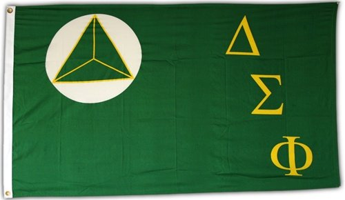 Delta Sigma Phi Official 3′ X 5′ Flag For Sale