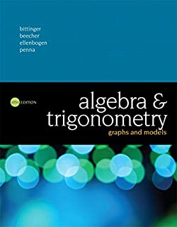 Algebra and trigonometry graphs and models 5th edition marvin l algebra and trigonometry graphs and models plus mylab math with pearson etext access fandeluxe Choice Image